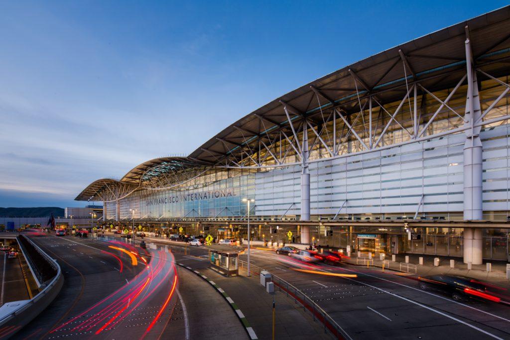 Airport San Francisco Ankunft